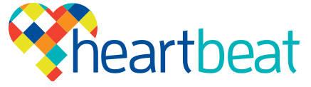 Heartbeat Nursing and HACC Logo